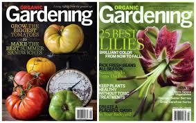 Organic Gardening Magazine $4 50 or Urban Farm Magazine $8 99 a