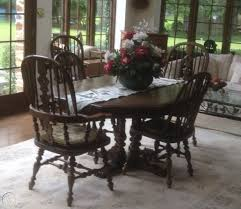 Ethan Allen Oak Dining Room Table 2 Leaves 6 Chairs Buffet ... Details About Set Of 5 Pcs Ding Table 4 Chairs Fniture Metal Glass Kitchen Room Breakfast 315 X 63 Rectangular Silver Indoor Outdoor 6 Stack By Flash Tarvola Black A 16 Liam 1 Tephra Alba Square Clear With Ashley 3025 60 Metalwood Hub Emsimply Bara 16m Walnut Signature Design By Besteneer With Magnificent And Ding Table Glass Overstock Alex Grey Counter Height