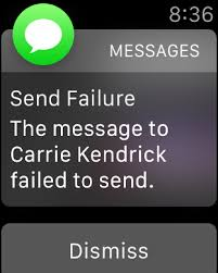 messages Apple Watch won t send iMessages Ask Different