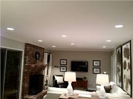 living room recessed lighting trim lovely can lights in living