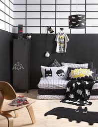 A Batman Themed Kids Room Superhero Decor Boys Ideas
