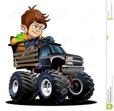 100 Monster Truck Driver Cartoon With Stock Vector Illustration Of