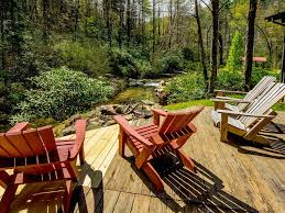 Sweetwater River Deck Events by Cabin On Trout River 9 Acres Surrounded By Vrbo