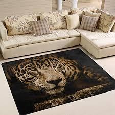 yibaihe große fläche teppiche cool leopard gedruckt leicht rutschfeste antistatisch wasserabweisend boden teppich für wohnzimmer schlafzimmer