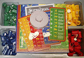 Box Of Stratego Board Game For 4 Players