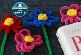 Pipe Cleaner Flower Bookmarks Video