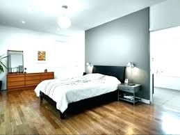 Accent Wall With Gray Grey Bedroom Yellow Dark