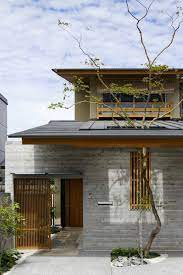 104 Japanese Modern House Plans Japenese Grey Wood Architecture Architecture