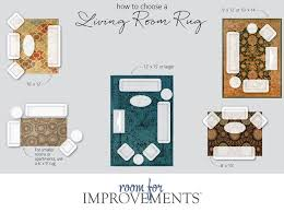 How To Choose A Living Room Rug Oriental Sizes