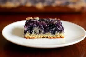 blueberry kuchen butteryum a tasty food