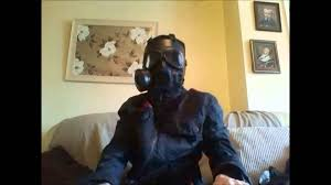 Purge Anarchy Mask For Halloween by Purge 2 Style Black Gas Mask Youtube