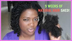 9 WEEKS OF NATURAL HAIR SHED NeziNapps