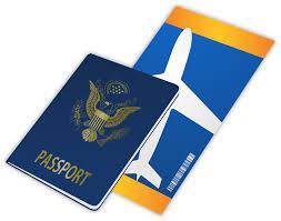 Passport Ticket Travel Entry Flight Travelling