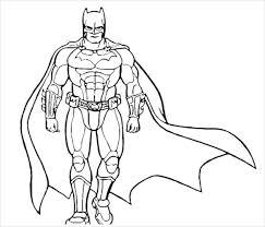 Batman Coloring Pages 21 Free PSD AI Vector EPS Format