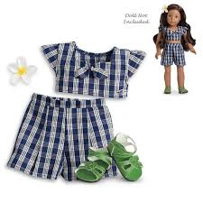 Amazoncom American Girl Sparkle Spin Skating Outfit For 18