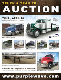 SOLD! April 20 Truck And Trailer Auction | PurpleWave, Inc. 2018 Peterbilt 567 Home Peterbilt Of Wyoming 2012 386 Trailers For Sale Shop New Used North American Trailer Pin By Darrell Tupper On Semi Truck Pinterest Semi Trucks Doonan Great Bend Best Image Kusaboshicom Of Wichitagreat Bendhays Posts Facebook Lubbock Sales Tx Freightliner Western Star Doonan Trailers For Sale