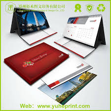 2016 Wholesale Cheap Price Full Color Custom OEM Company Advertising Printing For Calendar Design