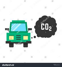 Big Green Truck Emits Carbon Dioxide Stock Illustration 408680734 ...