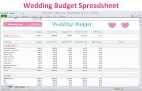 20 Off Excel Wedding Budget Planner Spreadsheet