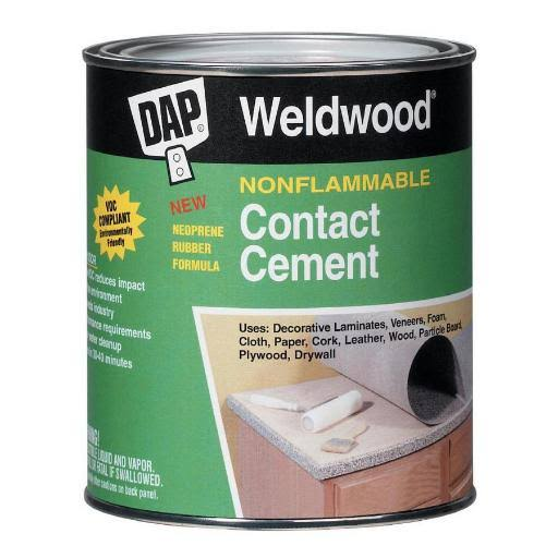 Dap Weldwood Non-Flammable Contact Cement - 1 Gallon