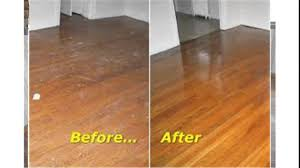 Burnishing Floors After Waxing by Buffing Hardwood Floors Youtube