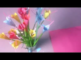 Easy Paper Flower Making Step By How To Make Flowers