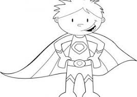 Superhero Coloring Pages For Kindergarten Coloring4free
