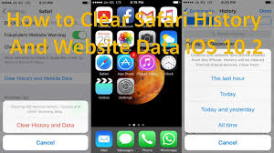 How to Clear Safari History And Website Data iOS 10 2