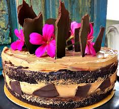Rustic Chocolate Cake For Roger