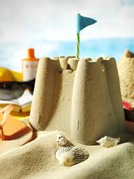 Sandcastle With Popsicles Beach Activities