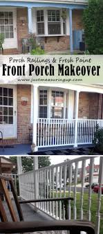 Exterior Wooden Porch Railing Designs And Steel Railing Porch Railing Pictures
