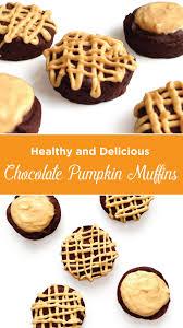 Healthy Chocolate Pumpkin Desserts by Healthy Chocolate Pumpkin Muffins U2014 Fitstagram Michelle