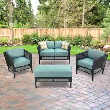 Home Depot Patio Furniture Wicker by Replacement Cushions For Patio Sets Sold At The Home Depot