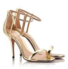 sebastian gold leather high heel swarovski crystal sandals