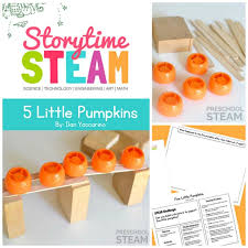The Runaway Pumpkin by Storytime Steam With The Runaway Pumpkin Preschool Steam