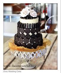Oreo Wedding Cake Haha Oreos are myyyy fave Don t know if I d do