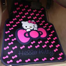 Cute Auto Floor Mats by Hello Kitty Car Floor Mats Ourcozycatcottage Com