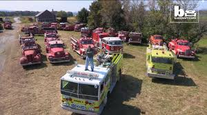 Man Owns 450-Fire-Truck-Collection And It's Worth One Million ... Economic Engines Afton Man Has Business Plan For Fire Trucks Giving Old La Salle Truck A New Home With Video Free Nct 127 Fire Truck Dance Practice Mirrored Choreo Birthday Cake My Firstever Attempt At Shaped New Engine In Action Video Review Brand Smeal Bus In City Kids And Car On Road Wheels The Watch William Watermore Amazon Prime Instant Monster Vs Race Trucks Battles A Hookandladder Turns Corner An Urban Area Stock Fireman Hastly Enters The Footage 5122152 Heavy Rescue Game Ready 3d Model Drops Performance For Kpopfans