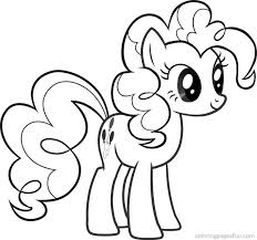 My Little Pony Coloring Pages Applejack