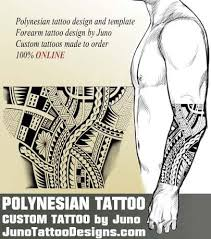 Forearm Tattoo Male Arm Polynesian Tribal Juno
