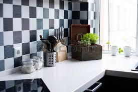 Kitchen Utensils Decor And Kitchenware In The Modern Interior Close Up Photo