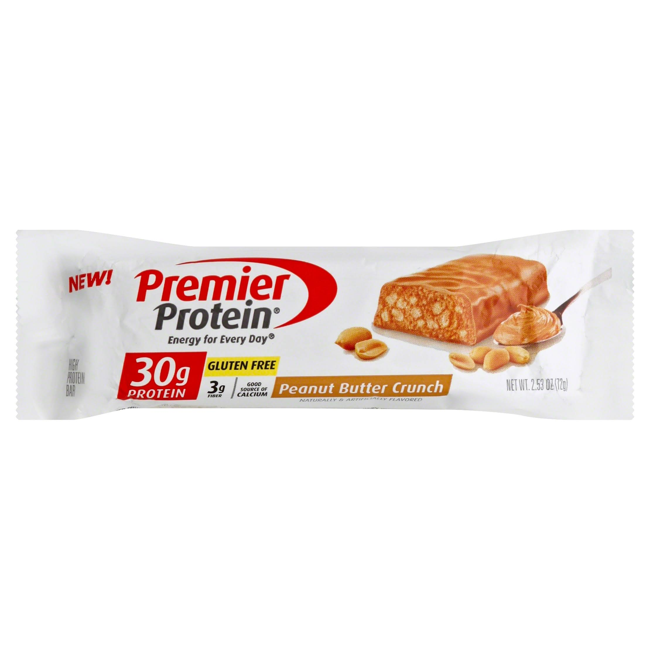 Premier Protein High Protein Bar - Peanut Butter Crunch, 2.53oz