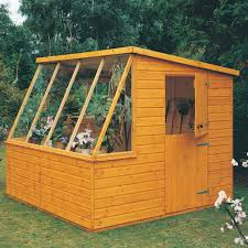 8x6 Wood Storage Shed by 8x6 Iceni Pent Shiplap Wooden Shed Departments Diy At B U0026q