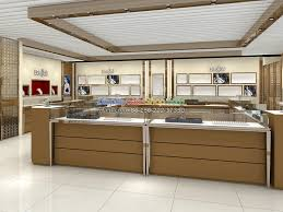 Modern Attractive Counter Table Design Jewelry Display Cases For Sale