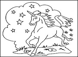 Animal Colouring Book Horses Carousel Horse Coloring Book