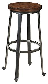 Modern Bar Stools Ashley Furniture HomeStore With Regard To Stool Prepare 5