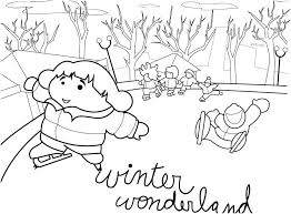 The Ideal Photographs Free Winter Coloring Pages Wonderful Page For Kids Sheets Preschoolers Solstice Sports Printable Full Size