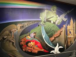 Denver International Airport Murals Artist by The Denver Airport Is The Subject Of Wild Conspiracy Theories
