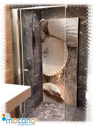 duschrückwand alu dibond mocano designelemente