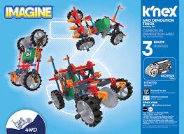 100 Demolition Truck KNex Imagine 4Wd Building Set Creative Building